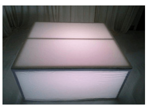 Stage Plexiglas 4′ x 4 ' Location [tag]